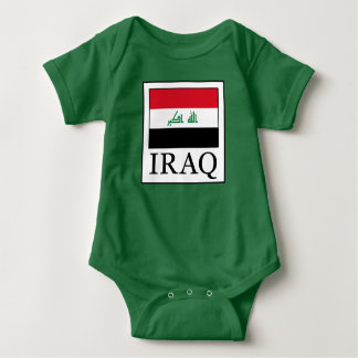 Iraq Baby Bodysuit