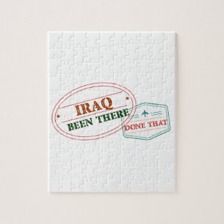 Iraq Been There Done That Jigsaw Puzzle