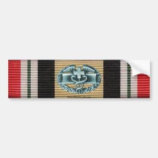 Iraq Campaign Medal Ribbon & CMB Sticker