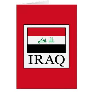 Iraq Card