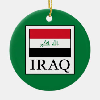 Iraq Ceramic Ornament