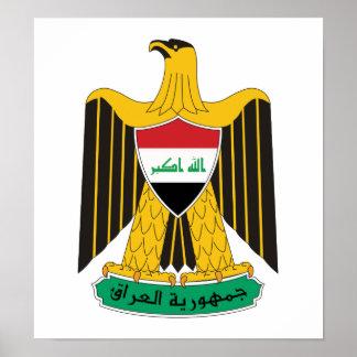 Iraq Coat Of Arms Print