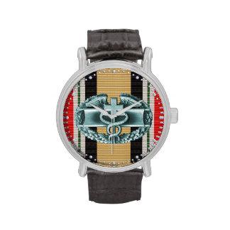 Iraq Combat Medical Badge Watch