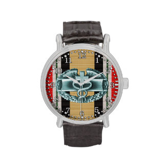 Iraq Combat Medical Badge Watch Wristwatches