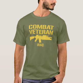 IRAQ Combat Veteran T-Shirt