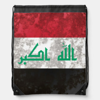 Iraq Drawstring Bag