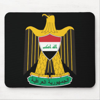 iraq emblem mouse pad