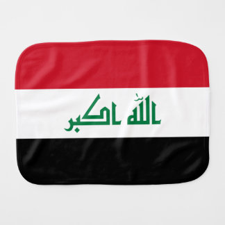 Iraq Flag Burp Cloth
