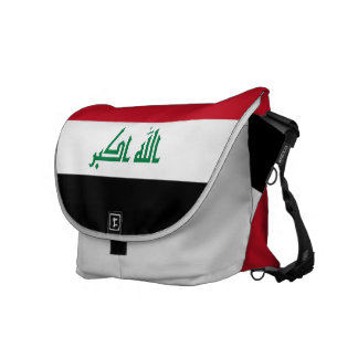 Iraq Flag Courier Bag