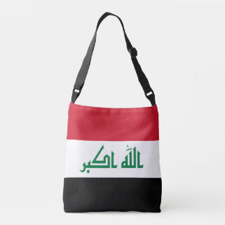 Iraq Flag Crossbody Bag
