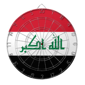 Iraq Flag Dartboard