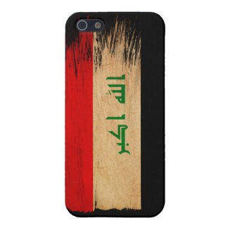 Iraq Flag Cover For iPhone 5