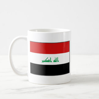 Iraq Flag ~ Map Mug
