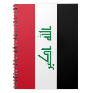 Iraq Flag Notebook