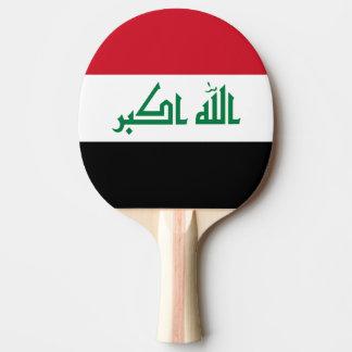 Iraq Flag Ping Pong Paddle