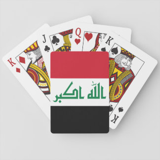 Iraq Flag Playing Cards
