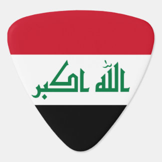 Iraq Flag Plectrum
