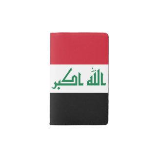Iraq Flag Pocket Moleskine Notebook