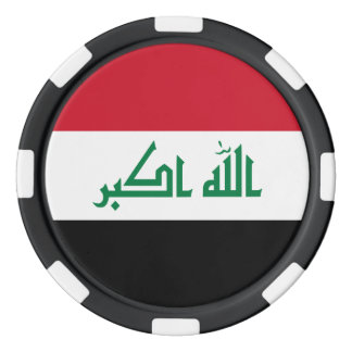 Iraq Flag Poker Chips