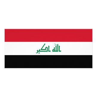 Iraq Flag Rack Card