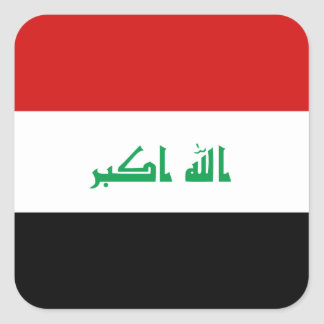 Iraq Flag Sticker