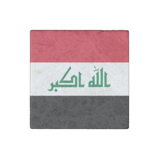 Iraq Flag Stone Magnet