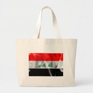 Iraq Flag Jumbo Tote Bag