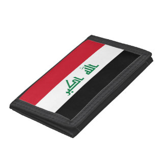 Iraq Flag Trifold Wallet