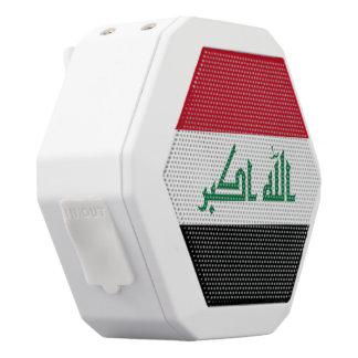 Iraq Flag White Bluetooth Speaker