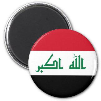 Iraq IQ , جمهورية العـراق کۆماری عێراق Flag, Baghd Magnet