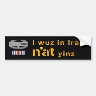 Iraq N'at Bumper Sticker