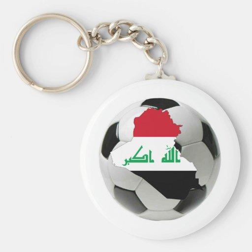 Iraq national team keychain
