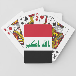 Iraq National World Flag Poker Deck