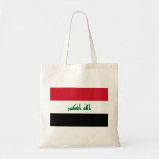 Iraq National World Flag Tote Bag