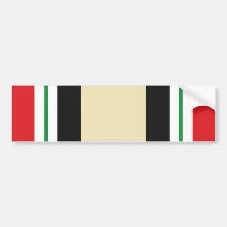 Iraq Service Ribbon Bumper Sticker