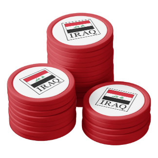 Iraq Set Of Poker Chips