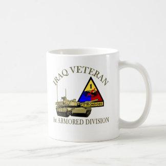 Iraq Vet - 1st AD Coffee Mugs