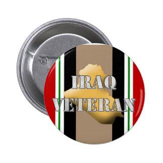 Iraq Veteran 6 Cm Round Badge