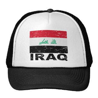Iraq Vintage Flag Hat