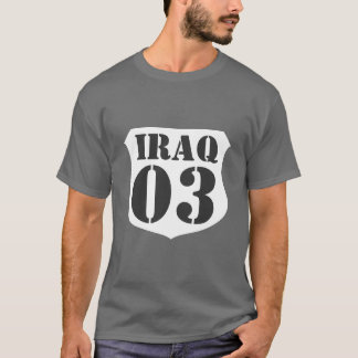 Iraq war veteran t-shirt - Customizable by year