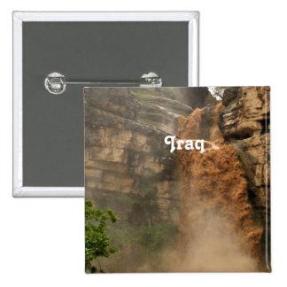 Iraq Waterfall Pin
