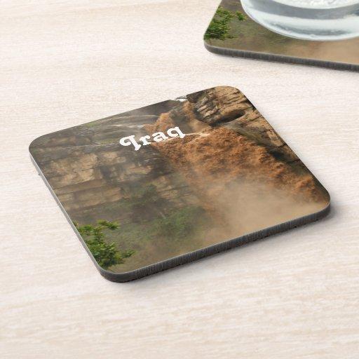 Iraq Waterfall Drink Coaster