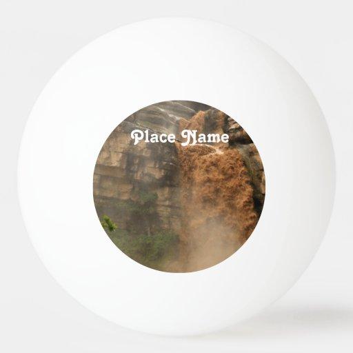 Iraq Waterfall Ping Pong Ball