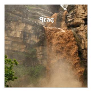 Iraq Waterfall Invite