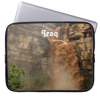Iraq Waterfall Laptop Sleeves