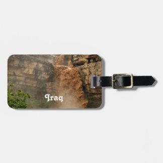 Iraq Waterfall Travel Bag Tags