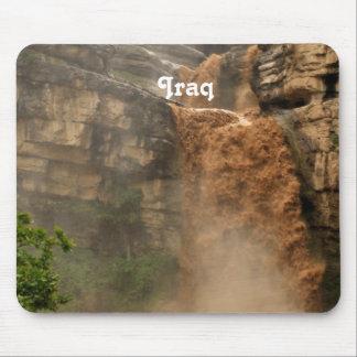 Iraq Waterfall Mousepad
