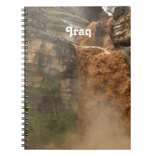 Iraq Waterfall Notebook