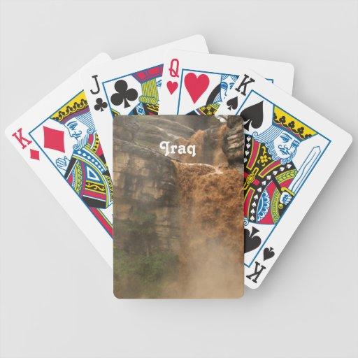 Iraq Waterfall Playing Cards