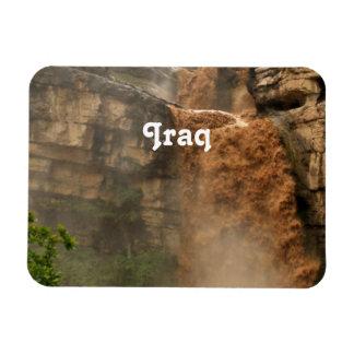 Iraq Waterfall Vinyl Magnet